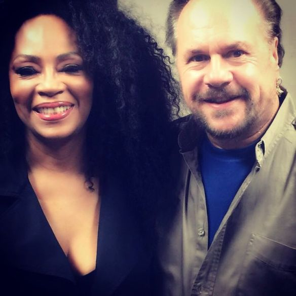 Jody Watley and KC of KC & The Sunshine Band. Mountain Winery 2015