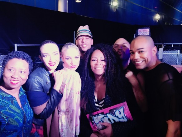 Richard Hallmarq Jody Watley LA Fashion Week 2017 Naima Mora