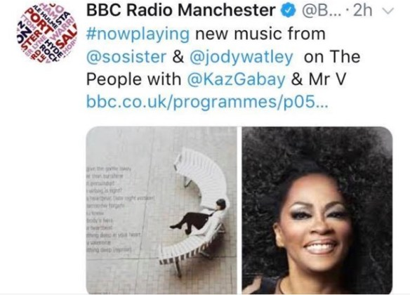 Jody Watley ft SRL BBC Radio Manchester The Mood
