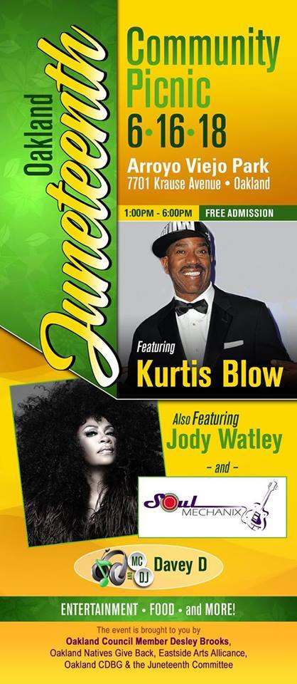 Oakland-Juneteenth Jody Watley
