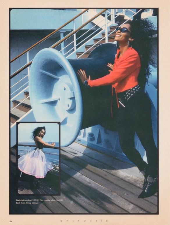 Jody Watley 80s Style Magazine feature