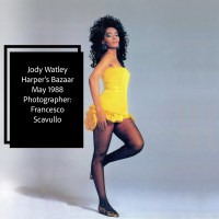 Jody Watley. Classic Image of The Day. Harper's Bazaar 1988 Photography by Legendary Francesco Scavullo