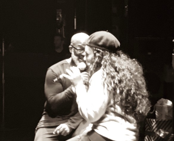 Jody Watley and Bebe Winans BTS Smile _Soundcheck