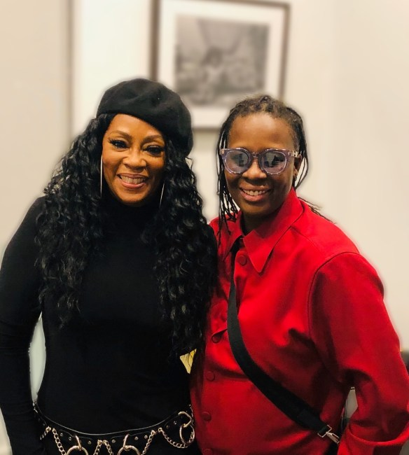 Jody Watley and Mickalene Thomas Green Room Better Nights Miami 2019