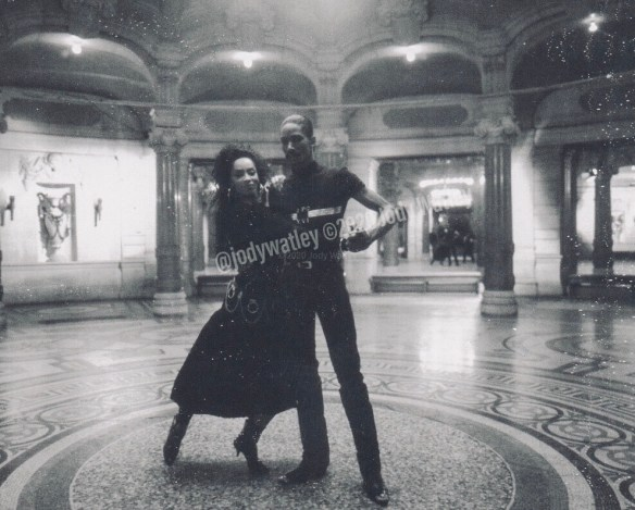 Jody Watley and Tyrone Proctor_Video Still a Thrill Poloroid
