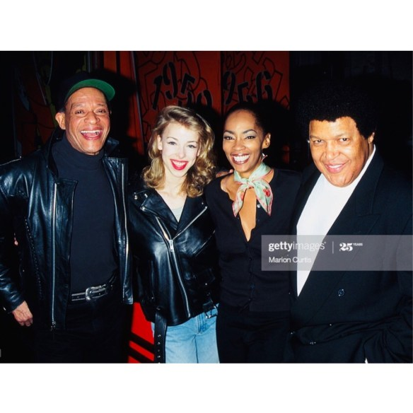 Al Jarreau Lacey Jody Watley Cubby Checker Grease The Musical On Broadway 1996