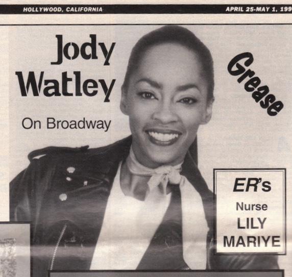 Jody Watley Dramalogue