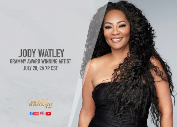 Jody Watley The Brandon Holt Show