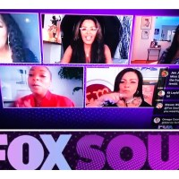 Jody Watley. Sheila E. Lisa Lisa. Kellita Smith. Out Loud with Claudia Jordan on Fox Soul TV.