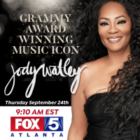 Just In! Jody Watley Will Be On Fox 5 Atlanta September 24.