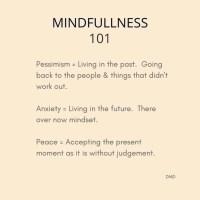 Wattage Thoughts. Mindfulness.