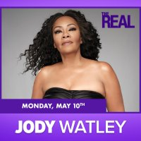 Save The Date. Monday May 10. Jody Watley On The Real Daytime Talk Show.