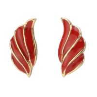 Wholesale Shop for Stud Earring Feather Made With Enamel ...