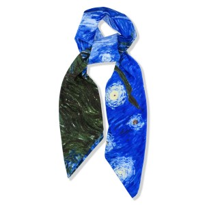 48ffb7e65 Scarf Starry Night By Van Gogh Made With Polyester