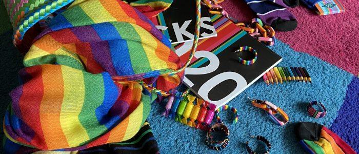 Rainbows - positive symbols of hope and inclusivity.