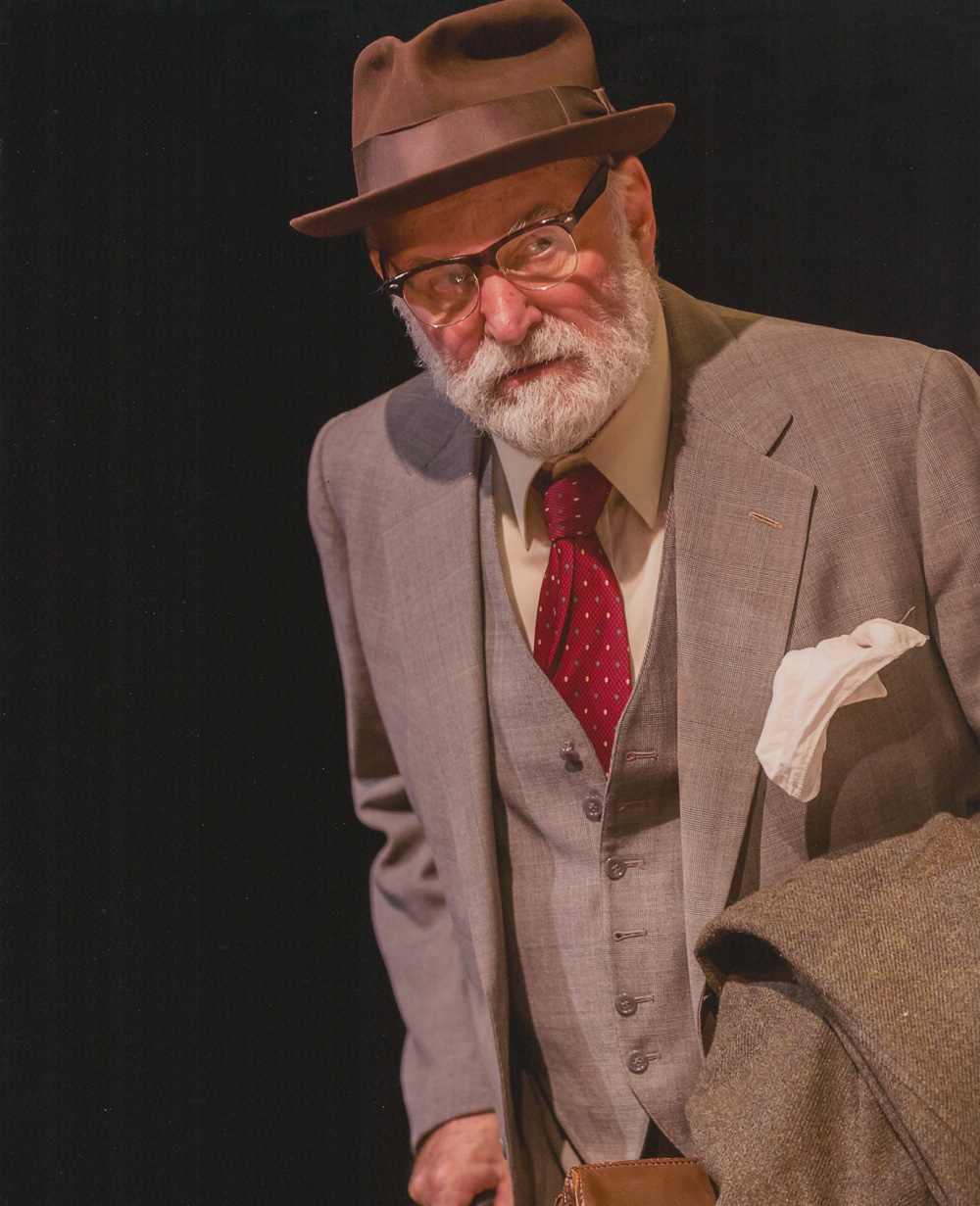 """Joe Costa in the Artists Repertory Theatre Production of """"The Price"""""""