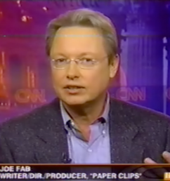 joe fab live on cnn [ 1250 x 863 Pixel ]