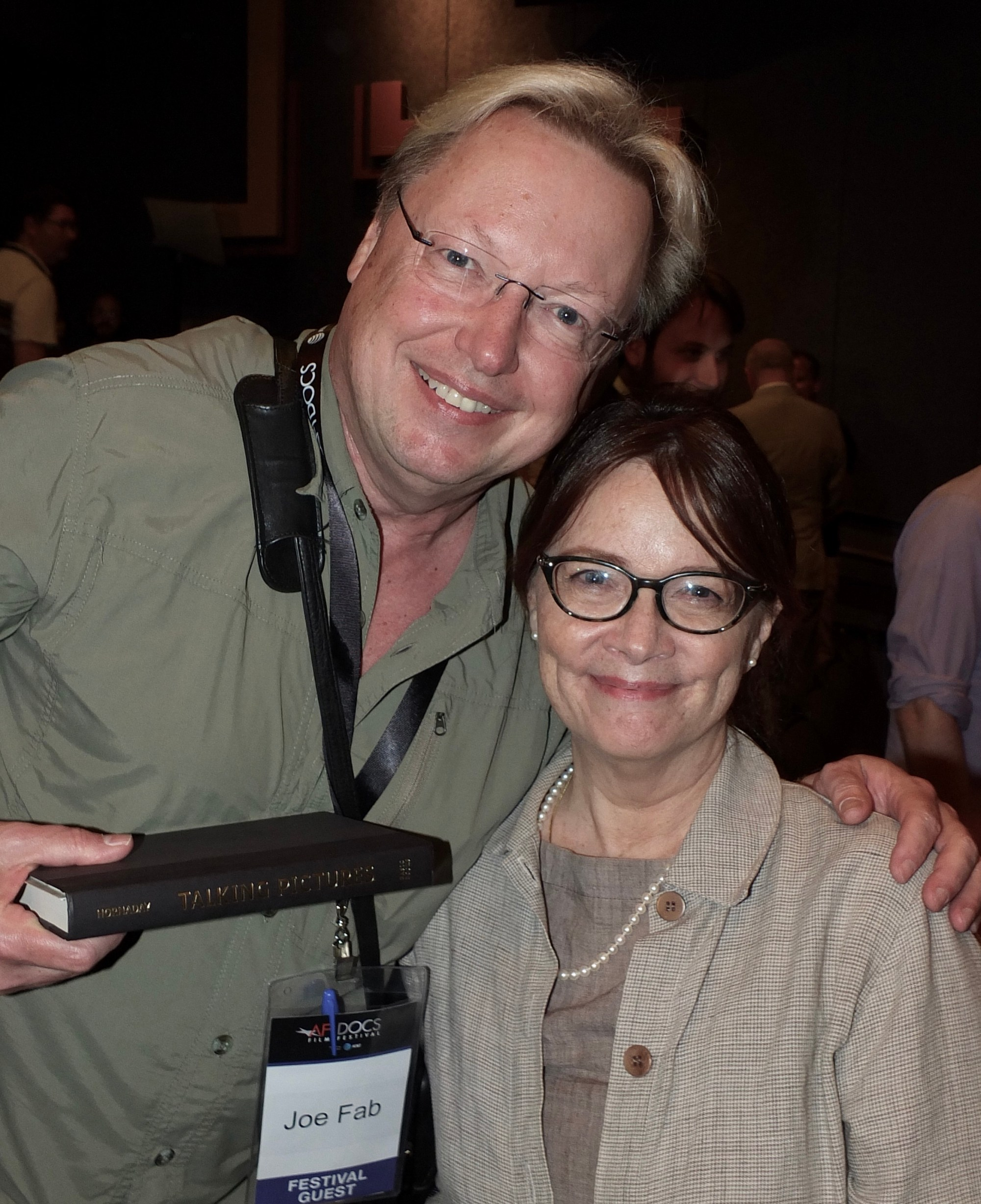 hight resolution of yours truly with ann hornaday at afidocs photo courtesy of bruce guthrie