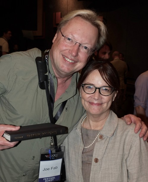 small resolution of yours truly with ann hornaday at afidocs photo courtesy of bruce guthrie