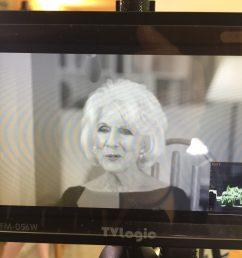 as seen through my monitor diane rehm conducting an interview for when my time comes  [ 3264 x 2448 Pixel ]