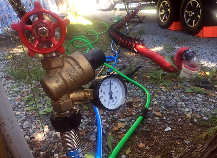 7 Must-Have Plumbing Accessories for RV Living. The best thing about the Valterra Adjustable Water Regulator is that it by default it is set to 40 psi, which is a safe pressure