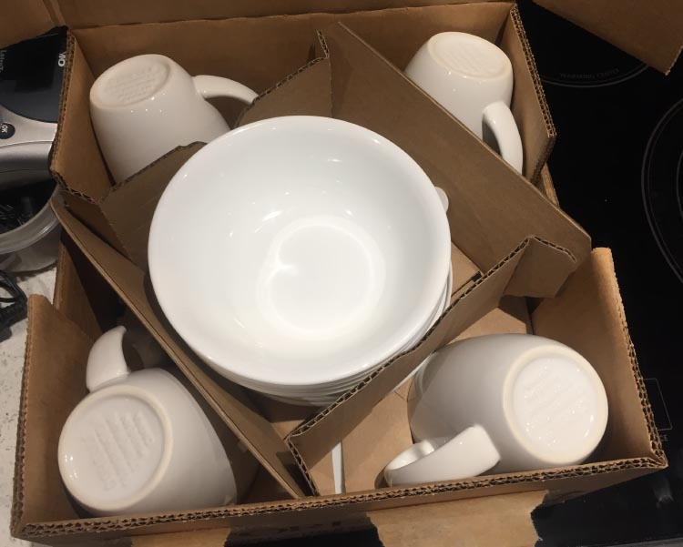 How To Start Your RV Living Adventure: Tips for Down-Sizing and Getting Organized. We bought a set of Corelle dishes with four place settings