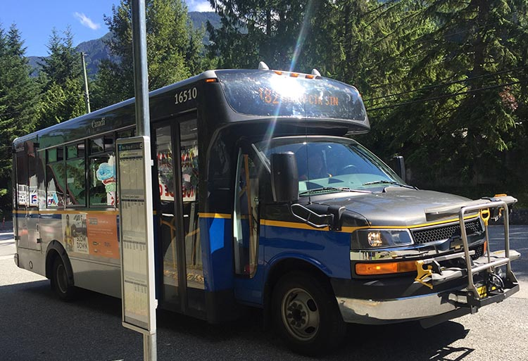 Biking and Hiking Near the Anmore RV Park in the Buntzen Lake Area, British Columbia. The no. 182 shuttle bus will get you and your bike up to Buntzen Lake