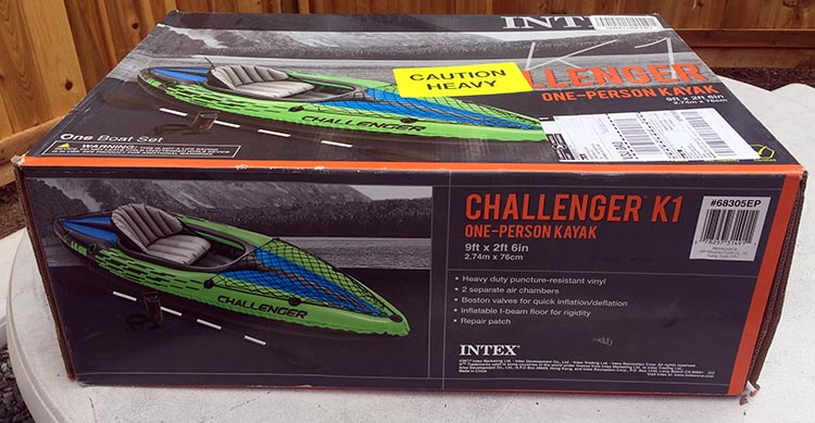 Review and Assembly of the Intex Challenger K1 Kayak – the Best Lightweight, Budget, Inflatable Kayak for RV Living. The Intex Challenger 1 Kayaks are shipped in a box, folded up