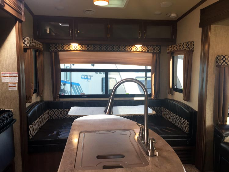 How to Choose the Right RV: 7 Tips to Help You Choose the Right RV. Once Maggie saw the kitchen island in the Denali RDS257, the deal was pretty much sealed!