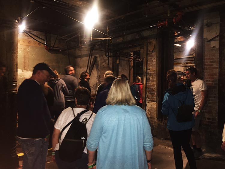 What Can You Do When Your RV is Having Repairs? Bill Speidel's Underground Tour of Seattle was a highlight - walking underneath the pavements of Seattle
