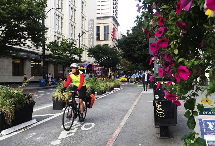 What Can You Do When Your RV is Having Repairs? Seattle has a lot of really good cycling infrastructure