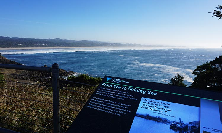 Our Experience of RV Camping at Beverley Beach and Humbug Mountain State Parks, Oregon Coast. First we admired the sea views