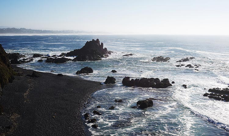Our Experience of RV Camping at Beverley Beach and Humbug Mountain State Parks, Oregon Coast. The area around Beverley Beach is full of stunningly beautiful beaches