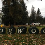 The signpost outside the Dogwood RV Park is one of its best features