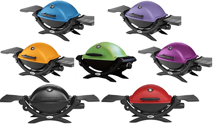 Best Barbecue for RV Living – Weber Q1200 Review. The Weber Q1200 comes in seven different colors!