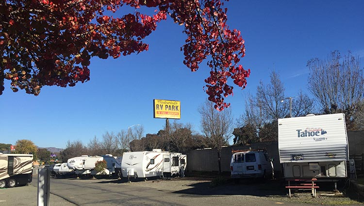 Review and Video of Tradewinds RV Park in Vallejo, near San