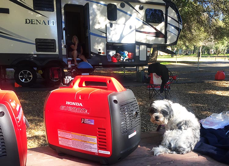 RV Baja California. We spent a few days preparing for our trip to the Baja, including checking our generators