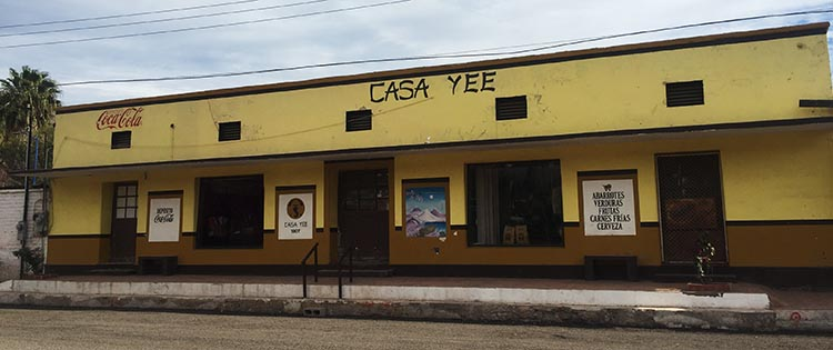 Casa Yee in Mulege, where you can buy propane