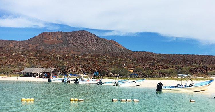 Coronado Island just off Loreto - photo by Nancy Bacciarini
