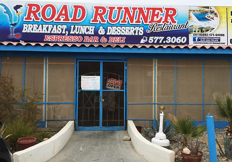 The Road Runner Restaurant on Highway 5 is ideal if you are craving an American style breakfast