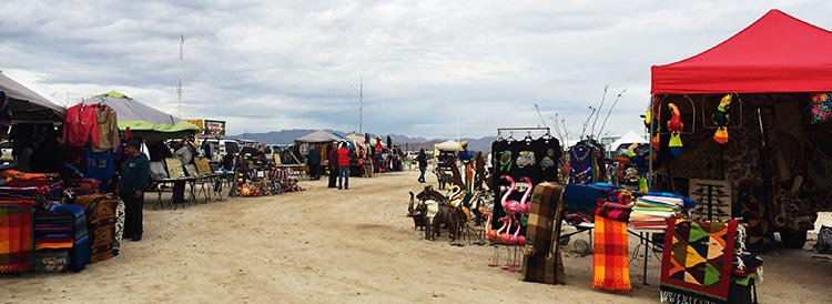 You can buy all kinds of things at the Saturday morning Swap Meet at El Dorado Ranch