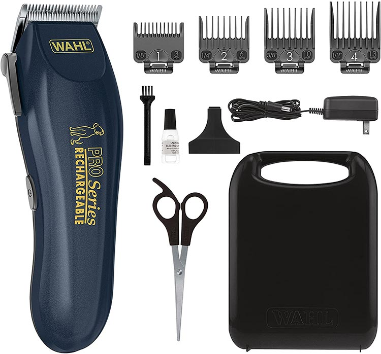 These budget dog clippers come with everything you need to keep your dogs in good shape