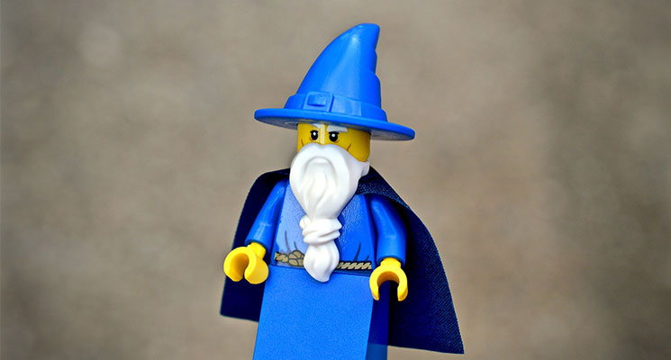 teach yourself SEO Lego wizard