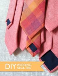 Diy Necktie - Diy (Do It Your Self)