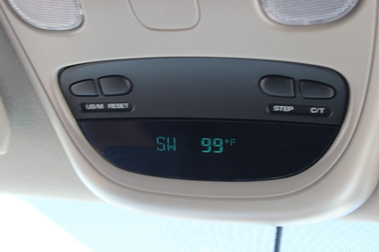With no water in site, 99 degrees is just a little to hot for comfortable tent camping!