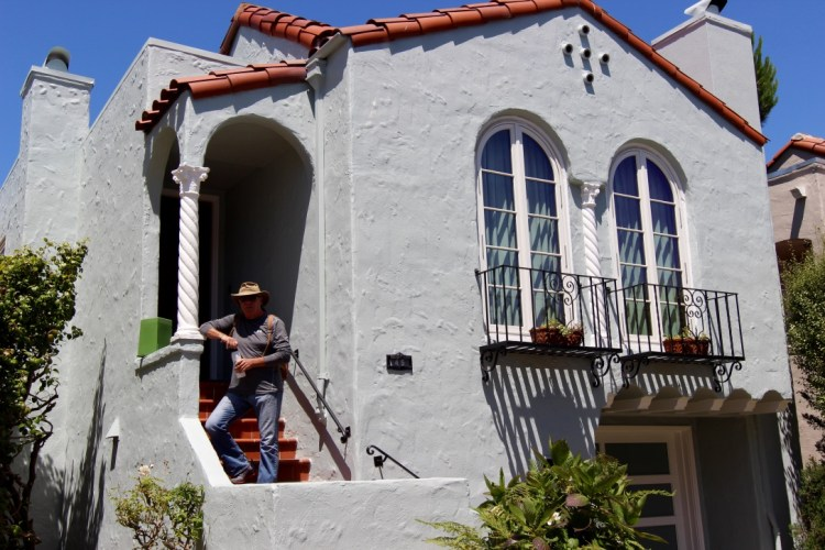 San Francisco, CA. The beautiful house where we stayed, thanks to our new friend Paula.