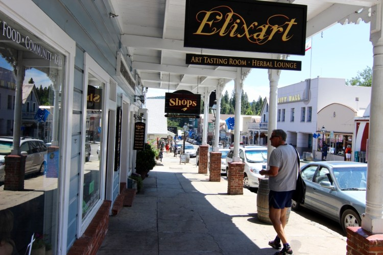 Another great historic town located close by. Nevada City, CA. And yes, Joe is wearing sandals with socks!!!