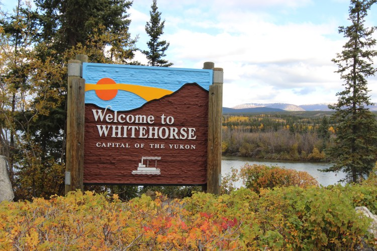 Whitehorse is the capital of Yukon and has a population of about 30 000.