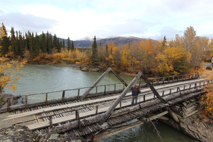 Canyon Creek Bridge built in 1904 during the Gold Rush.