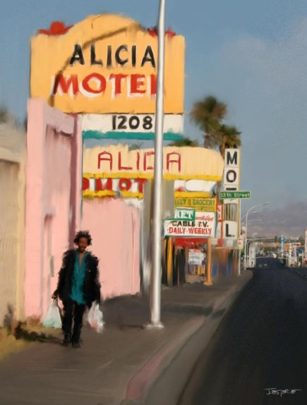 """Lucky 13th Street - Las Vegas"""""